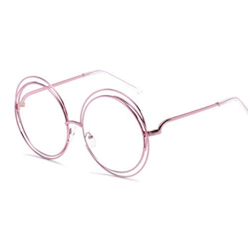 Sol para Unisex Mujer Gafas de 6 Protección de para Color Gafas Sol 15 ZYXCC Sol UV YANJING de Redondas Gafas qI7wZzFE