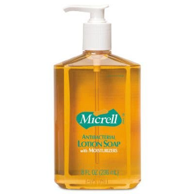 MICRELL Antibacterial Lotion Soap Pump Bottle - Micrell Antibacterial Lotion Soap Pump