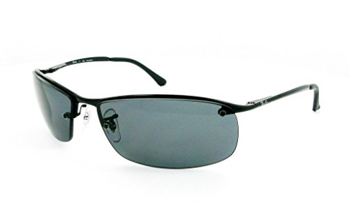 Ray Ban RB3183 002/81 63mm Black/Polarized Gray Sunglasses Bundle-2 - Rb3183 Lenses