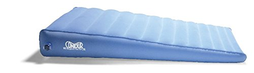 Inflatable Acid Reflux Bed Wedge Pillow by Contour Products, Gradual Incline 48 X 28 X 8 (Acid Reflux Wedge)