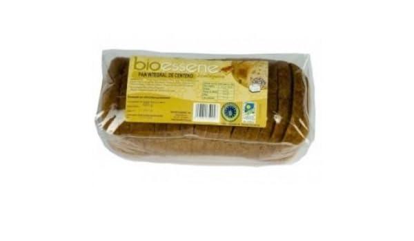 PAN ALEMAN MOLDE CENTENO INTEGRAL 600 GR BIO: Amazon.es: Alimentación y bebidas