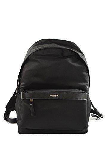 Michael Kors Kent Nylon Backpack For Work School Office Travel (Black)