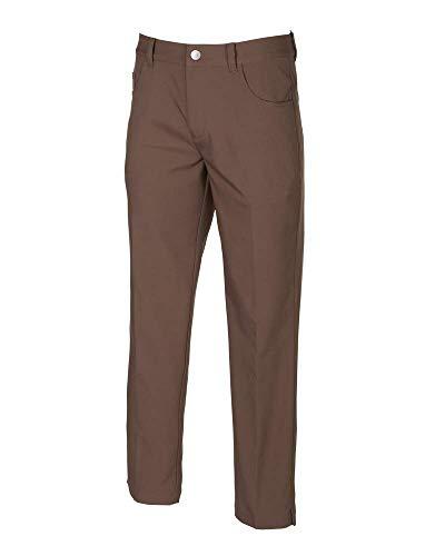 (Puma Golf Men's 2019 Jackpot 5 Pocket Pant, Chocolate Brown, 36 x 30)