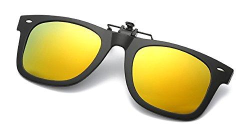 lunettes DAUCO Unisex myopie Myopic Élégant de confortable Polarisation conduite on Type2 Lunettes de Up soleil pêche Flip Clip extérieure TTrPqw