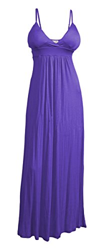 eVogues Plus Size Sexy Cocktail Maxi Dress Purple - 5X (Dresses In 5x For Women)