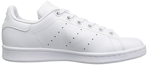 Adidas Youths Stan Smith Leather Trainers FTWWHT/FTWWHT/FTWWHT