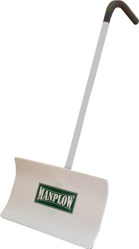 Manplow MT24-PPH-3PK Snow Shovel with Pistol‐Push Handle, 24'', 3-Pack by Manplow