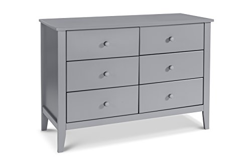 Da Vinci Kalani Dresser - Carter's by Davinci Morgan 6 Drawer Dresser, Gray