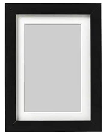 Buy Ikea Fiberboard Photo Frame 4x6 10x15 Cm Black Online At Low Prices In India Amazon In