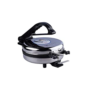 DIVYA Stainless Steel Electric Roti Maker 1000 Watts (Roti/Khakhra/Chapati/Paratha/Papad Maker)