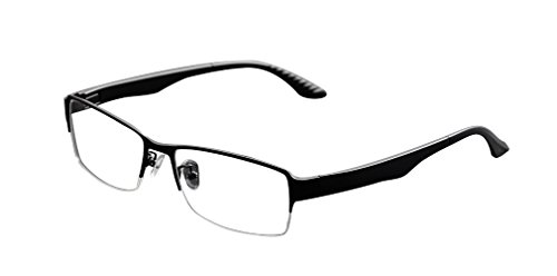 Deding Men Super Large Wide Oversized Full Frame Square Metal Glasses Frame Size 58-18-138mm - Sale Whole Glasses