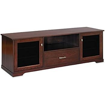 Bon Horizon EX 72 Inch American Solid Wood Media Console / TV Stand / AV Cabinet