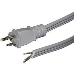 Certified Appliance Accessories 15-Amp Straight-Plug Appliance Power Cord, 6ft
