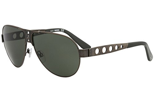 Diesel Men's DL0092 Metal Aviator Bronze Sunglasses - Diesel Sunglasses Mens