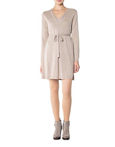 Damen Beige Marc Dress Kleid Meliert Größe 36 O'Polo Farbe Viskose 1nR4F