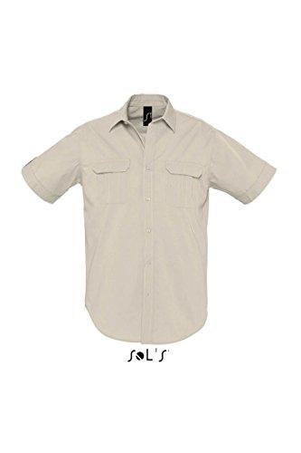 SOL´S Mens Short Sleeve Shirt Botswana, Größe:3XL, Farbe:Rope