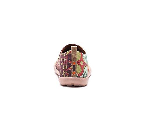 UIN Nouvelle Orléan Jazz Chaussures bateaux de toiles multicolore pour femme
