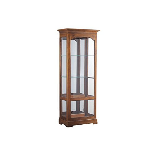 Powell Curio Cabinet - Powell Oakdale Collection 15A7038 30