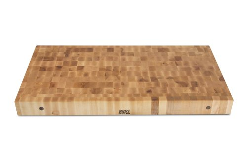 John Boos Maple Wood End Grain Butcher Block Cutting Board, 48 Inches x 24 Inches x 4 Inches
