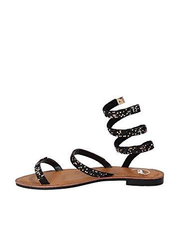 Nero Exe 37 Sandalo Donna G485l1991004 q8aw1x6H