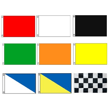 Power Boat Racing Flags Set 3' x 5'