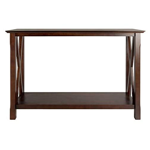 Winsome 40445 Wood Xola Occasional Table, Cappuccino Product in Inches (L x W x H): 45.0 x 15.98 x 30.0