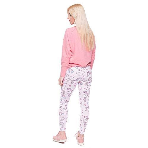 Yoga Lga45542 World Moda Print Vita Elegante Donna Classiche Alta Di Ragazzi Tee Leggings Pantaloni Qualità Legging Unicorns A Women 1CHqn5w
