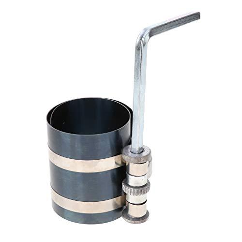 Gazechimp Engine Piston Ring Ratchet Compressor Clamp-82mm Diameter:53-125mm: