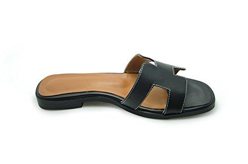 AdeeSu - Zapatillas de estar por casa para mujer negro