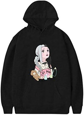 TWUor Cry-baby-12 Womens Casual Hoodie Printed Sweatshirt Fashion Pullover Adult Long Sleeve