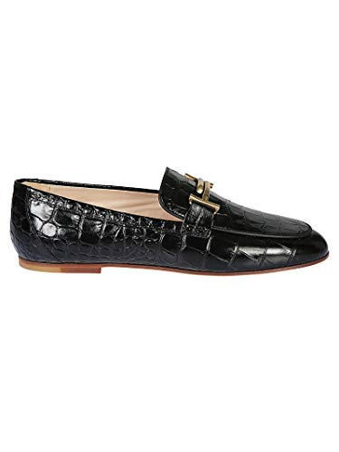 Leather Women's Xxw79a0z370j09b999 Tod's Black Loafers FzxqSwZS8O