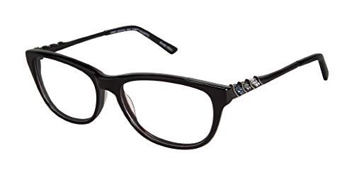 baec1dbe59 Jimmy Crystal New York Valletta Tortoise 53-16-135 (Black)