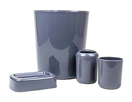 Set Da Bagno Moderno : London empire pezzi set bagno moderno grigio set cucina