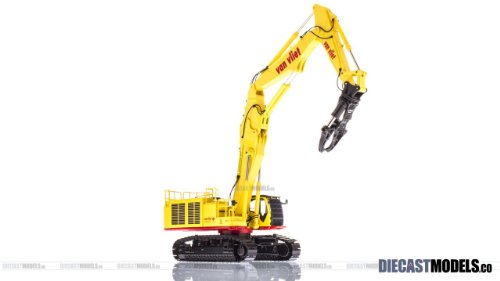 Hitachi Zaxis ZX1000K-3 2PB Demolition Excavator Van Vliet in 1:50 scale by  NZG