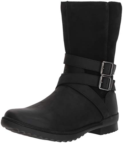 UGG Women's W Lorna  Boot, Black, 8 M US