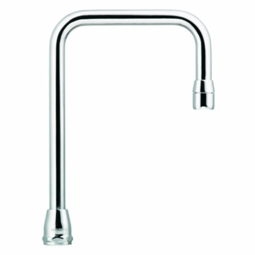 Moen S0002 Commercial M-Dura 6-Inch Reach Double Bend Spout 5.00-Inch to Aerator, Chrome by Moen