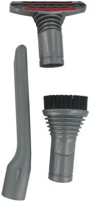 Dyson Europart DC14 - Juego de boquillas para aspiradora (32 mm, boquilla para escaleras, cepillo redondo y esquinas): Amazon.es: Hogar