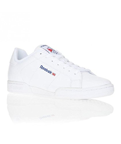 REEBOK Npc II-zapatillas para hombre Blanco blanco Talla:45 Blanco - blanco
