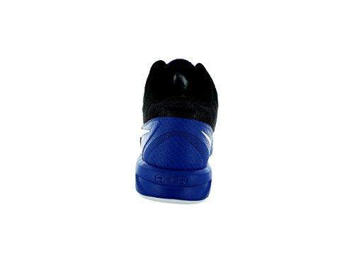Nike Mens Air Visi Pro VI Basketball Shoes Game Royal/Black/Photo Blue/White ISuDTmL