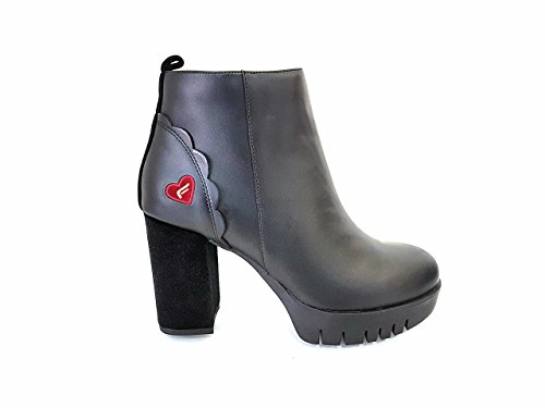 Women Black PI18BE1046C000 Fornarina Boots Ankle O7ndITTqwt
