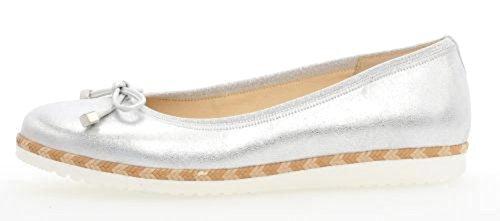 Gabor Comfort 82.411-61 York- Scarpe Da Donna Moda Ballerina / Ballerina, Multicolore, Altezza Del Tacco: 10 Mm Multicolore
