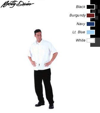 """Barber Jacket Large White """"Floyd"""""""