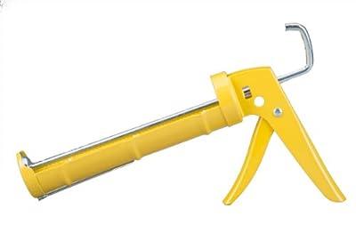 Dripless CR200 Contractor Professional Ratchet Drive Caulk Gun with 10-Ounce Cartridge
