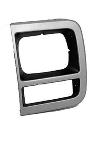 Left Headlamp Door for Chevy Box Truck, G20, P30, Van, GMC P3500, Van GM2512181 (1995 G30 Van)