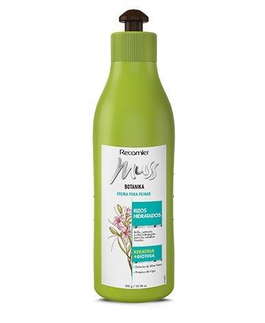 Amazon.com : MUSS BOTANIKA RIZOS CREMA PARA PEINAR. Keratina, Biotina, semilla de lino, proteina de arroz. Combing cream .Biotin and keratin.
