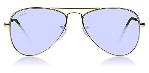 Ray-Ban Junior Unisex RJ9506S 50mm (Youth) Matte Gold 1 - Junior Ban Ray Aviators