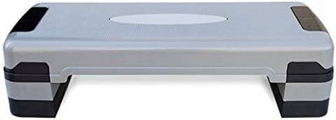 CHUI-CC 静音 ホームエアロビックフィットネスペダルペダル体操ストレッチ、高さ調節 運動器具