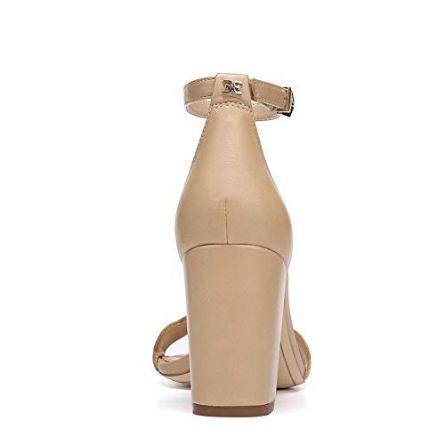 Odila Con Nude Dress Para Abierta Sandalias Leather Sam Classic Mujer Edelman Punta Nappa ftwSqq5z