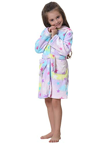 Fille Peignoir Kid Vêtements Capuche Cosplay Style Aibrou Nuit Licorne 3 Enfants Unisexe Garçon Enfant Flanelle De 70d0qf