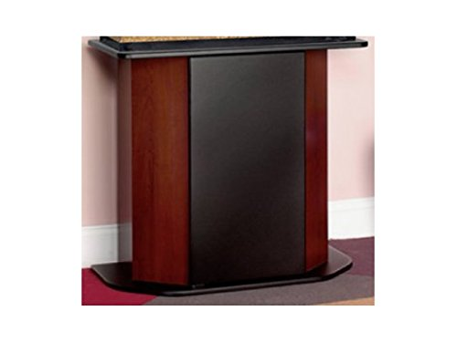 Aqua Culture Deluxe Aquarium 20/29 Gallons Stand with Moisture Resistant Powder Coated Top Base and Door